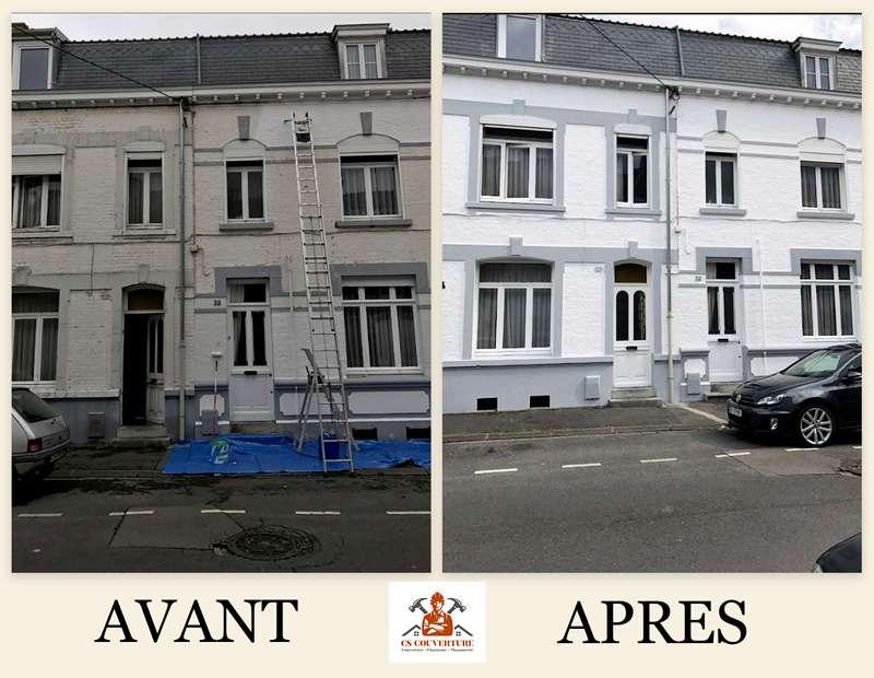 Avant Après Ravalement de façade
