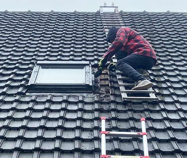 Changement de couverture de toit complete